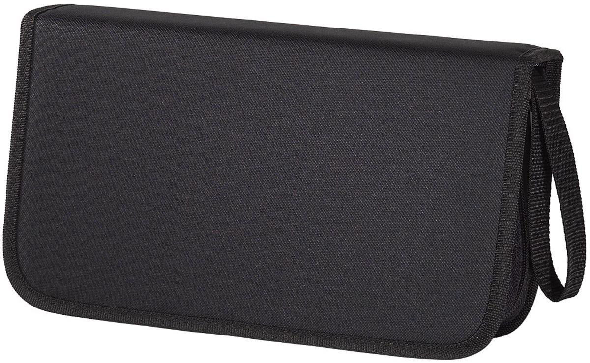 Сумка для CD Hama H-11617 Nylon, Black (104 шт)