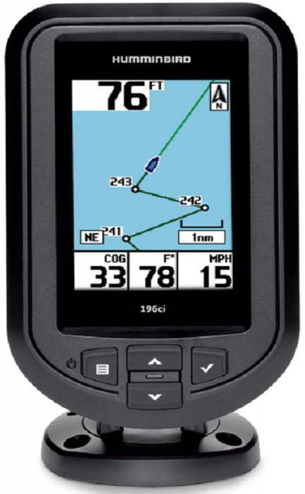 Эхолот Humminbird PiranhaMax 196CXIHB-PIR196cxiHumminbir PiranhaMAX 196cxi - это не просто обновленный эхолот серии PiranhaMAX, теперь это ещё и эхолот со встроенным GPS-приемником, благодаря которому Вы можете видеть пройденный путь на 3,5 дюймовом цветном экране и сохранять нужные Вам точки в памяти прибора. Используя возможности GPS-приемника Вы теперь сможете помечать места где был хороший клев, причем к каждой сохраненной точке помимо координат автоматически привязывается глубина. Вы всегда сможете вернуться обратно по пройденному треку или построить маршрут напрямик к точке и эхолот будет Вам указывать направление и оставшееся расстояние до выбранного места. Цветной экран с высоким разрешением 320 х 240 px. поможет более детально изучить структуру и рельеф дна. ТЕХНИЧЕСКИЕ ХАРАКТЕРИСТИКИ Бренд — Humminbird Тип излучателя — 1 луч (20°) Маршруты — 3.5 / 8.9 см Отображение структуры дна — Есть Определение расстояния до рыбы — Есть Сигнал обнаружения рыбы — Есть Водонепроницаемость — 320x240 Питание, В — 10-20В постоянного тока Мощность излучения, Вт — 200 (RMS), 1600 (PtP) Крепление — быстросъемное крепление на винтах Предзагруженные карты — 16 Тип экрана — LCD Габариты прибора (высота х ширина х толщина), см — 9,86 x 16,51 x 8,89 Тип дисплея: — 200 Батарея — 183 Тип эхолота — Стационарный