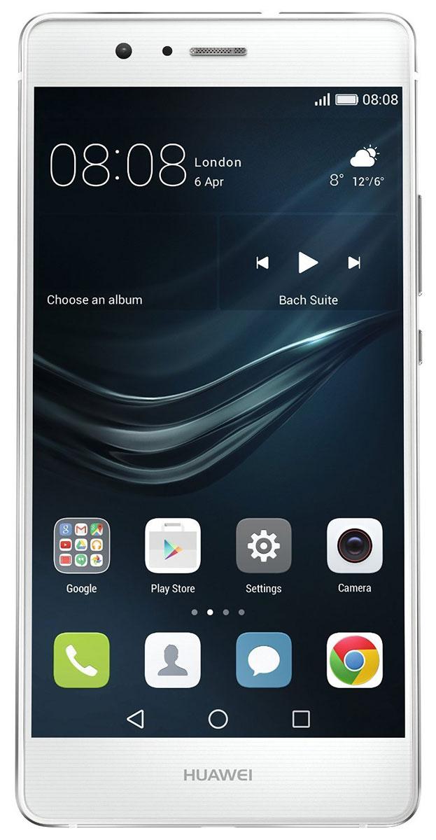 Huawei P9 Lite (VNS-L21), White51090LMCВоплощение новых технологий в смартфоне Huawei P9 Lite, преемнике P8 Lite: лучшие в своем классе решения и самые современные технологии в компактном, стильном корпусе. Легкий смартфон P9 Lite оснащен эргономичными кнопками, а гармоничная металлическая окантовка корпуса делает внешний вид устройства элегантным. Экран смартфона занимает 76.4% передней панели, а тонкий корпус 7,5 мм Huawei P9 Lite притягивает взгляды. Full HD экран 5.2 дюйма позволит увидеть больше, будь то фотографии или видео. Камера Huawei P9 Lite сохранит яркие моменты и передаст все краски жизни. 13 Мпикс сенсор Sony IMX214 с диафрагмой f/2.0 снимает качественные фотографии и видео. Создавайте настоящие фотопроизведения с профессиональным режимом съёмки Huawei P9 Lite. Вы можете вручную настроить баланс белого, ISO и экспозицию в процессе съёмки. Надежная защита с быстрым доступом для владельца: Huawei P9 lite имеет новый сканер отпечатка пальца ...