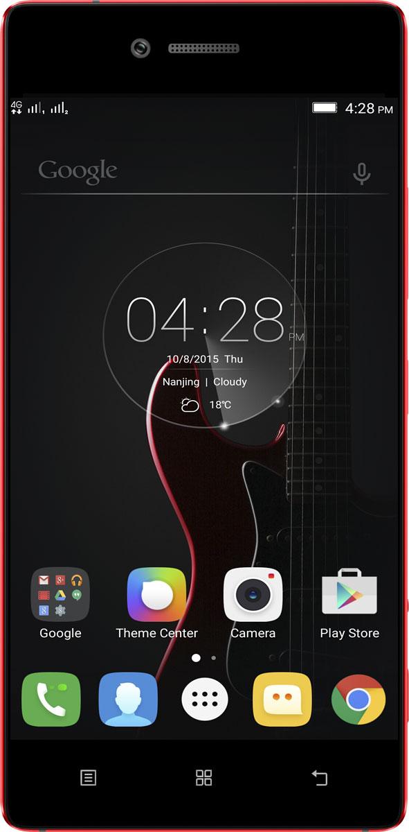 Lenovo Vibe Shot (Z90A40), Red (PA1K0161RU)PA1K0161RULenovo Vibe Shot — это стильный и производительный смартфон, и вместе с тем — удобная камера для профессиональной фотосъемки.Vibe Shot укомплектован 64-битным процессором Qualcomm Snapdragon 1,7 ГГц и оперативной памятью объемом 3 ГБ. Смартфон поддерживает современные высокоскоростные технологии передачи данных, работает на ОС Android, оснащен камерой для профессиональной фотосъемки и обладает другими интересными возможностями.С помощью задней камеры 16 Мпикс вы сможете делать профессиональные снимки даже в условиях слабого освещения. Камера обладает уникальными особенностями: инфракрасным автофокусом — в два раза быстрее обычного, современной шестикомпонентной линзой повышенной четкости, оптическим стабилизатором изображения и BSI-датчиком с подлинным разрешением 16:9. Фронтальная камера 8 Мпикс отлично подходит для съемки селфи, в том числе панорамных, и общения в видеочатах.Пятидюймовый Full HD дисплей (1920x1080) с ярким и четким изображением позволит в полной мере насладиться играми, видео и просмотром фотографий высокого разрешения. Благодаря технологии IPS дисплей обеспечивает широкие (почти 180 градусов) углы обзора.Благодаря встроенной памяти 32 ГБ на Vibe Shot можно записать множество фотографий, музыки и других файлов. Кроме того, в смартфон можно установить карту microSD, чтобы увеличить объем памяти до 128 ГБVibe Shot поддерживает подключения LTE (4G) и Bluetooth 4.1 LE, позволяя скачивать данные на скорости до 150 Мбит/с. Благодаря этому вы сможете максимально раскрыть возможности веб-сайтов, приложений и игр.Операционная система Android Lollipop отличается рядом нововведений и усовершенствований, а также кардинально новым внешним видом. Она стала быстрее и эффективнее и при этом потребляет меньше электроэнергии. Кроме того, она отлично работает с вашими любимыми приложениями Google.Vibe Shot весит всего 145 г, а его толщина — 7,6 мм, поэтому он с легкостью поместится в карман или сумку. Алюминиевый 