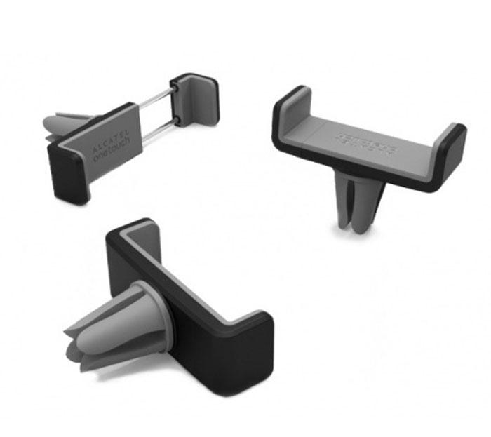 Alcatel HD20-3AALRU1, Black Gray автомобильный держательHD20-3AALRU1Автомобильный держатель Alcatel HD20-3AALRU1 имеет компактные размеры. Он позволит комфортно разместить мобильный телефон или GPS-навигатор в автомобиле. Мобильное устройство в одно касание крепится к держателю и так же легко снимается. Устанавливается на решетку воздуховода и не загораживает обзор во время движения.