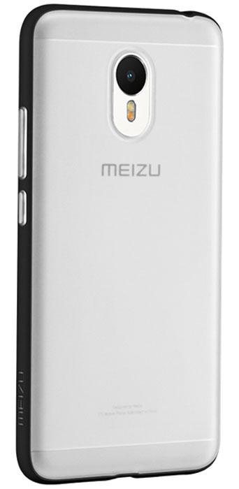 Meizu TPU чехол для M3 Note, Black874004Y0663Чехол-накладка Meizu TPU для M3 Note обеспечивает надежную защиту корпуса смартфона от механических повреждений и надолго сохраняет его привлекательный внешний вид. Накладка выполнена из высококачественного материала, плотно прилегает и не скользит в руках. Чехол также обеспечивает свободный доступ ко всем разъемам и клавишам устройства. Боковые стороны чехла немного возвышаются над уровнем экрана, благодаря чему даже при положении телефона экраном вниз, он не касается поверхности, а значит и при падении экраном вниз удар на себя примут выступающие бортики чехла, а не экран!