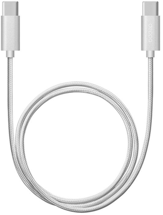 Deppa Alum, Silver дата-кабель USB Type-C (1,2 м)72246Дата-кабель Deppa Alum USB Type-C предназначен для синхронизации и зарядки смартфонов и планшетных компьютеров. Подходит для подключения к MacBook, Chromebook и другим устройствам с разъемом USB Type-C.