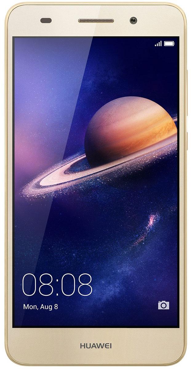 Huawei Y6 II LTE (CAM-L21), Gold51090RGDНевероятно яркий экран смартфона Huawei Y6 II с динамическим разрешением 1280x720 позволит вам не упустить ни одной самой мелкой детали, обеспечивая кристально чистые изображения. Покрытие экрана GFF защищает его от царапин и выцветания.Невероятно мощная основная широкоугольная камера 13 МП с линзой 28 мм и диафрагмой F2.0, объектив которой сделан из суперпрочного стекла с защитой от царапин. Камера позволяет делать снимки великолепного качества даже в условиях очень плохого освещения.Селфи никогда не были столь похожи на профессиональные фото! Фронтальная камера 8 МП с диафрагмой F2.0 и углом обзора 77 градусов позволяет делать великолепные панорамные селфи. Открой для себя новый мир!Huawei Y6 II поддерживает 10 степеней режима Украшения, который оптимизирует портретные снимки в режиме реального времени, распознавая лица на фотографиях за 10 миллисекунд. 8 параметров режима украшения и возможность персональной настройки помогут всегда выглядеть на фото великолепно, а режим Макияж позволит нанести макияж, например, тени или румяна, на уже готовом фото. Вы прекрасны!Корпус Huawei Y6 II привлечёт внимание каждого. Приятная текстура и оригинальные цвета корпуса - это сочетание эргономичности и стиля. Почувствуй себя звездой, к которой прикованы взгляды!Оптимальный размер экрана Huawei Y6 II - 5,5 дюймов - и закруглённые края корпуса обеспечивают удобство использования и управления смартфоном одной рукой, сочетая преимущества большого экрана и компактного корпуса.Huawei Y6 II оснащён 8-ядерным 64-битным процессором Kirin 620 1,2 ГГц, который позволяет одновременно использовать несколько приложений без задержек и снижения производительности. Архитектура ARM поддерживает технологию умного энергопотребления, продлевая время работы телефона без подзарядки. 2 ГБ RAM, 16 ГБ ROM и поддержка карты памяти microSD (до128 ГБ) обеспечивают высочайшую скорость работы смартфона.ОС Android 6.0 и интерфейс EMUI4.1 - новое ПО, обеспечивающее невер