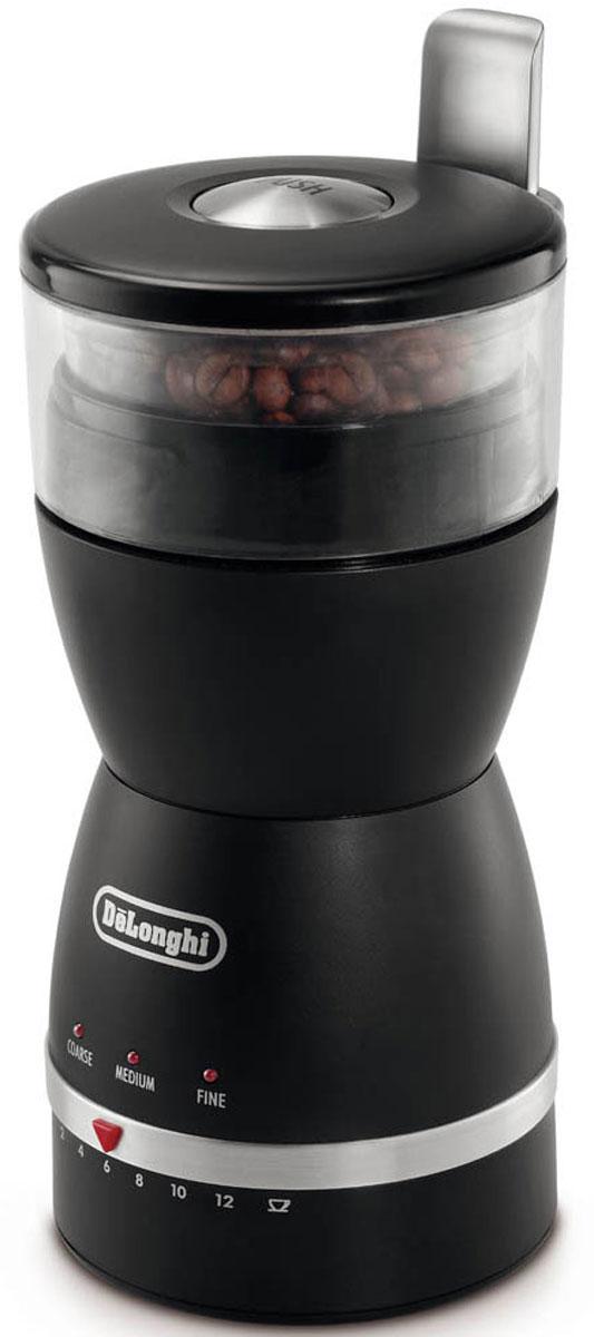 DeLonghi KG 49 кофемолкаKG49Безопасная кофемолка DeLonghi KG 49 с пластиковым корпусом и прочными лезвиями из нержавеющей стали. Лезвия из нержавеющей стали не деформируются, не ржавеют, не подвержены коррозии, легко моются и имеют максимально длительный срок службы. Благодаря корпусу из высококачественного пластика кофемолка устойчива к механическим воздействиям, может храниться в любом положении без коробки, очень надежна и удобна в использовании. Хорошая кофемолка - гарантия самого ароматного кофе в любое время дня.