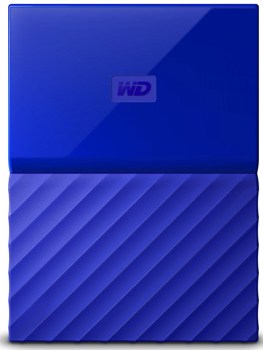 WD My Passport 2TB, Blue внешний жесткий диск (WDBUAX0020BBL-EEUE)