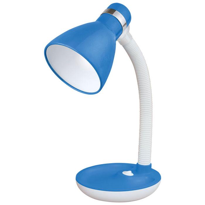 Energy EN-DL15, Blue лампа настольная54 366027Настольная электрическая лампа Energy EN-DL15 предназначена для лампочек со стандартным цоколем Е27 (в комплект не входит). Она идеально подходит для чтения и выполнения домашних заданий детьми, равно как и для работы с бумагами или за компьютером. Подвижная ножка позволяет гибко регулировать высоту и направление излучаемого света. Диаметр абажура составляет 105 мм.