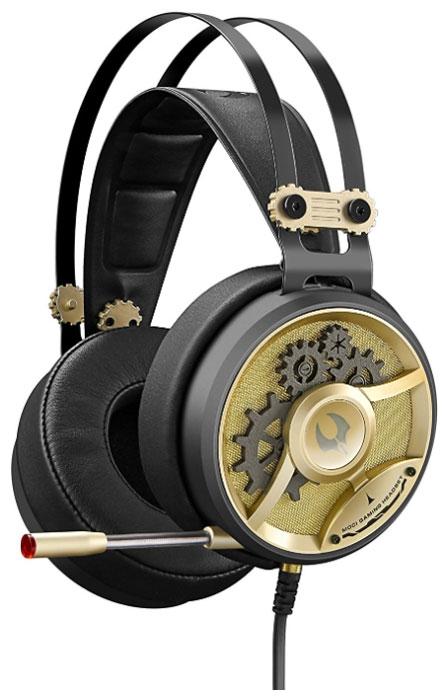 A4Tech Bloody M660, Black Bronze игровые наушники4711421925105Гарнитура A4Tech Bloody M660 изготовлена из высококачественных материалов, которые обеспечивают наибольший комфорт пользователю даже после длительного использования. Металлический коннектор гарантирует долговечность устройства. А благодаря элегантному дизайну даже самые требовательные игроки будут в восторге.Двухкамерная технология акустической обработки обеспечивает глубокий резонирующий бас и кристально четкие высокие и средние частоты (в диапазоне от 20 Гц до 20 КГц). Это создает реалистичное ощущение объемного звука и позволяет вам в полной мере насладиться игровым процессом.Инновационная технология M.O.C.I. (Mycelium of Carbon IT) - революционная двухъядерная полнодиапазонная мембрана диаметром 40 мм наушников изготовлена из наномицелия и углеродных волокон. Это первая в своем роде аудиогарнитура, которая позволяет услышать оригинальный звук без его искажения.Двухъядерная мембрана обеспечивает кристально четкие высокие и средние частоты, а также глубокий резонирующий бас. Одноядерная мембрана не может обеспечить наилучшие высокие, средние и низкие частоты.Гарнитура специально разработана таким образом, чтобы предотвратить головную боль при длительном ношении. Двухъядерная полнодиапазонная мембрана создана из тончайшего материала, что позволяет вашим ушам дышать.Полностью регулируемый передовой микрофон обеспечивает кристально чистую голосовую связь во время игры, предоставляя вам максимальный контроль в игровой среде.Эргономичный дизайн обеспечивает максимальный комфорт, идеально подходит для долгих игровых сессий.Бескислородные медные нити изготовлены из эко-материала TPE. Кабель оптимизирован под любое окружение и выдерживает натяжение с силой 20 кг.Модель A4Tech Bloody M660 оснащена микрофоном, имеющим тип крепежа слайдер. Благодаря наличию регулятора громкости можно будет по собственному усмотрению задавать степень громкости звуков, воспроизводимых через наушники.