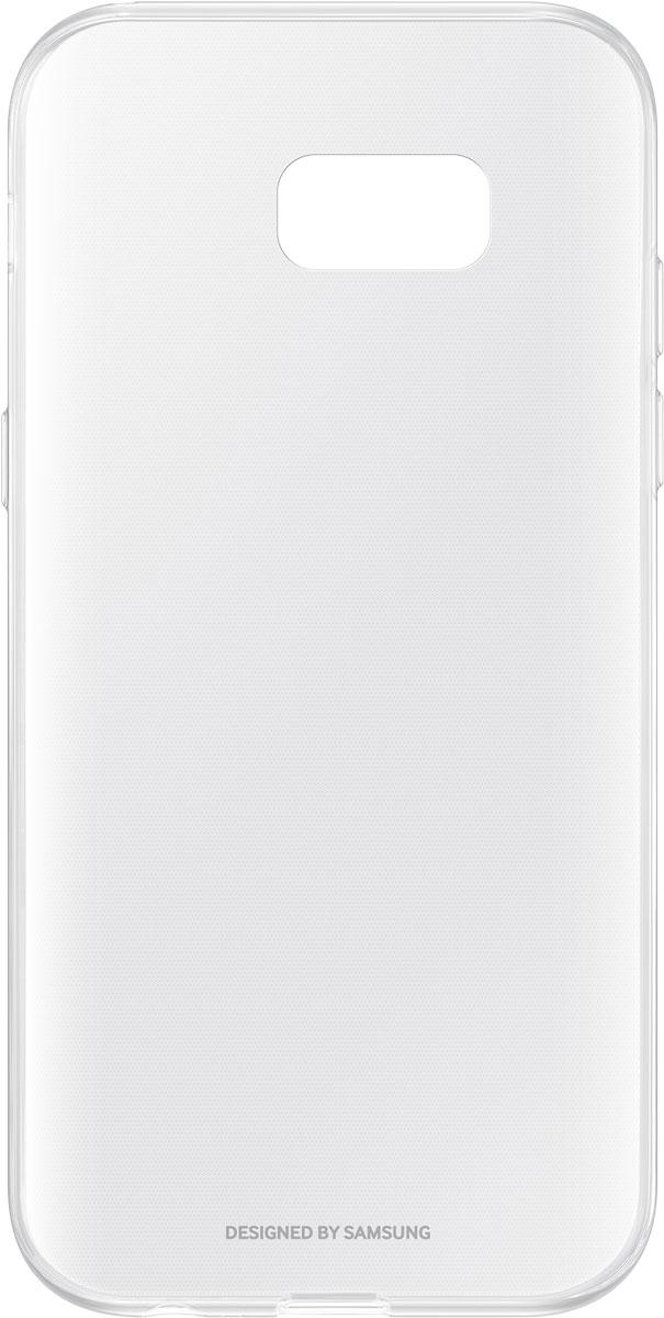 Samsung EF-QA520 ClearCover чехол для Galaxy A5 (2017), ClearEF-QA520TTEGRUЧехол Samsung ClearCover подходит для модели смартфона Galaxy A5 (2017). Аксессуар плотно прилегает к корпусу устройства и защищает от механических повреждений и пыли. Прозрачная поверхность чехла сохраняет оригинальный внешний вид Galaxy A5 (2017). Чехол сделан из прочного поликарбоната, легко надевается и снимается. При использовании чехла в паре со смартфоном все функциональные порты и клавиши остаются доступными.