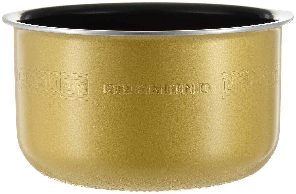 Redmond RB-C422 чаша для мультиваркиRB-C422Redmond RB-C422 - 4-литровая чаша с керамическим покрытием от компании ANATO (Корея) прошла самые серьезные испытания на прочность и качество. Изготовленное из экологичных материалов по самым передовым технологиям, керамическое покрытие более устойчиво к механическим воздействиям, чем тефлоновое или его аналоги. Пища, приготавливаемая в чаше, не пригорает, равномерно прожаривается и тушится, не теряя своих вкусовых и полезных качеств. Емкость можно также успешно использовать для приготовления блюд в духовом шкафу. Мыть чашу можно как под краном, так и в посудомоечной машине. Высота чаши: 130 мм Диаметр чаши: 210 мм (без обода)
