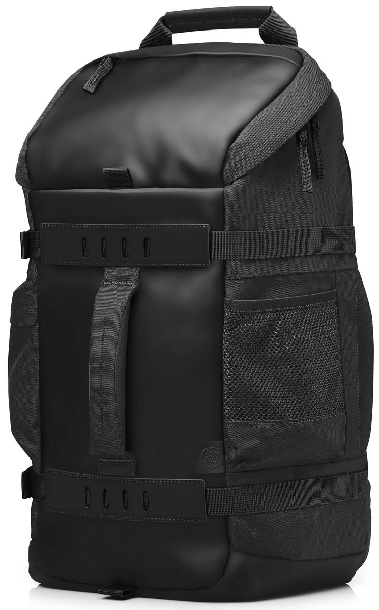 HP Odyssey рюкзак для ноутбуков 15.6, Black (L8J88AA)1000391214Продуманное расположение отделений, современный дизайн и универсальность делают этот рюкзак отличным выбором как для повседневного использования, так и для длительных поездок. Рюкзак HP Odyssey обладает раздельными карманами для хранения ноутбуков диагональю до 39,62 см (15,6) и планшетов, а также отсеками для дополнительных принадлежностей. Он сделан из надежных материалов и отличается яркой цветовой гаммой с уникальной камуфляжной подкладкой. Дышащая поверхность внешней подкладки и удобно расположенные лямки обеспечивают повышенный комфорт. Стильный дизайн и комфорт во время поездок.