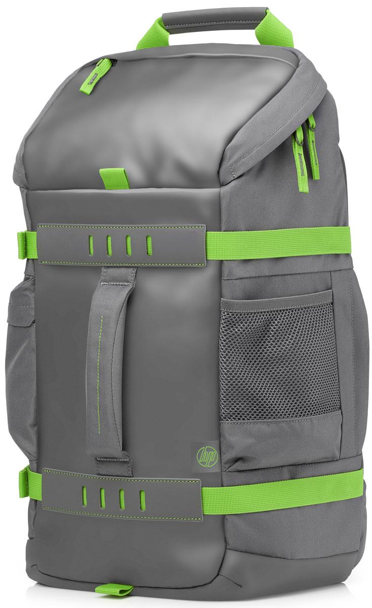 HP Odyssey рюкзак для ноутбуков 15.6, Grey (L8J89AA)1000391215Продуманное расположение отделений, современный дизайн и универсальность делают этот рюкзак отличным выбором как для повседневного использования, так и для длительных поездок. Рюкзак HP Odyssey обладает раздельными карманами для хранения ноутбуков диагональю до 39,62 см (15,6) и планшетов, а также отсеками для дополнительных принадлежностей. Он сделан из надежных материалов и отличается яркой цветовой гаммой с уникальной камуфляжной подкладкой. Дышащая поверхность внешней подкладки и удобно расположенные лямки обеспечивают повышенный комфорт. Стильный дизайн и комфорт во время поездок.