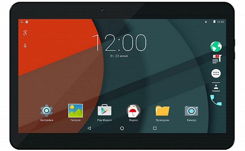 BB-mobile Techno 10.1 LTE TQ060X, Black