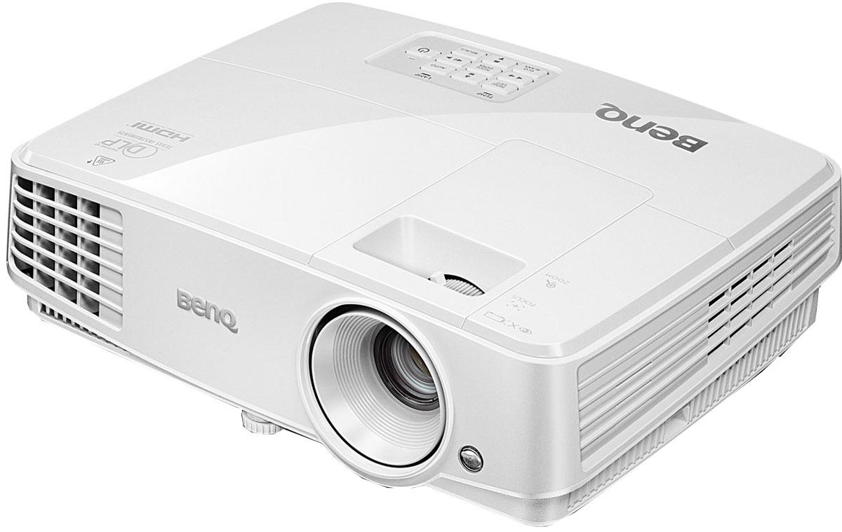 BenQ MX528 мультимедийный проектор4718755063275Компания BenQ разработала совместно с Philips технологию Smart Eco - это уникальное решение, которое позволяет динамически управлять энергопотреблением проектора в зависимости от режима использования и типа проецируемого изображения. В проекторе MX528 с технологией SmartEco среднее энергопотребление снижается, а срок службы лампы увеличивается.Затраты на замену лампы в проекторе достаточны высоки. Режим LampSave обеспечивает динамическую регулировку мощности лампы, тем самым продлевая ее срок службы на 50%! Также до 50% сокращается частота замены ламп. Как результат, снижается стоимость владения и обслуживания!При отсутствии входного сигнала от в течение трех минут проектор автоматически перейдет в режим Eco Blank. Это не позволит тратить электрoэнергию впустую и продлит срок службы лампы.В режиме ожидания MX528 потребляет меньше Проектор MX528 оснащен технологией показа 3D изображения, позволяющая школам активно вовлекать учеников в образовательный процесс, используя для этого 3D очки и соответствующий контент.