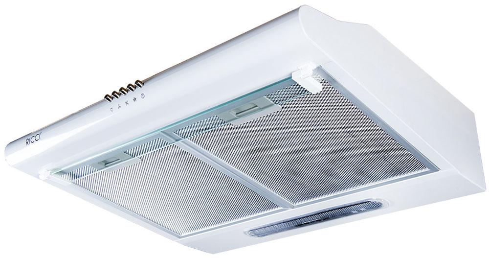 Ricci RRH-2150-WH вытяжкаRICCI RRH-2150-WHВытяжка Ricci RRH-2150-WH поможет вам эффективно решить проблему очистки воздуха. Она осуществляет работу в режимах отвода или рециркуляции воздуха. Вытяжка сочетает в себе качество, функциональность и элегантный дизайн, что делает ее отличным дополнением для вашей кухни.Трехслойный алюминиевый фильтр предназначен для защиты двигателя, вентиляторов и отводящих труб от скопления мельчайших частичек жира, попадающих в в воздух во время приготовления пищи. 3 скорости работыМощность лампы: 40 ВтВоздуховод: 120 мм