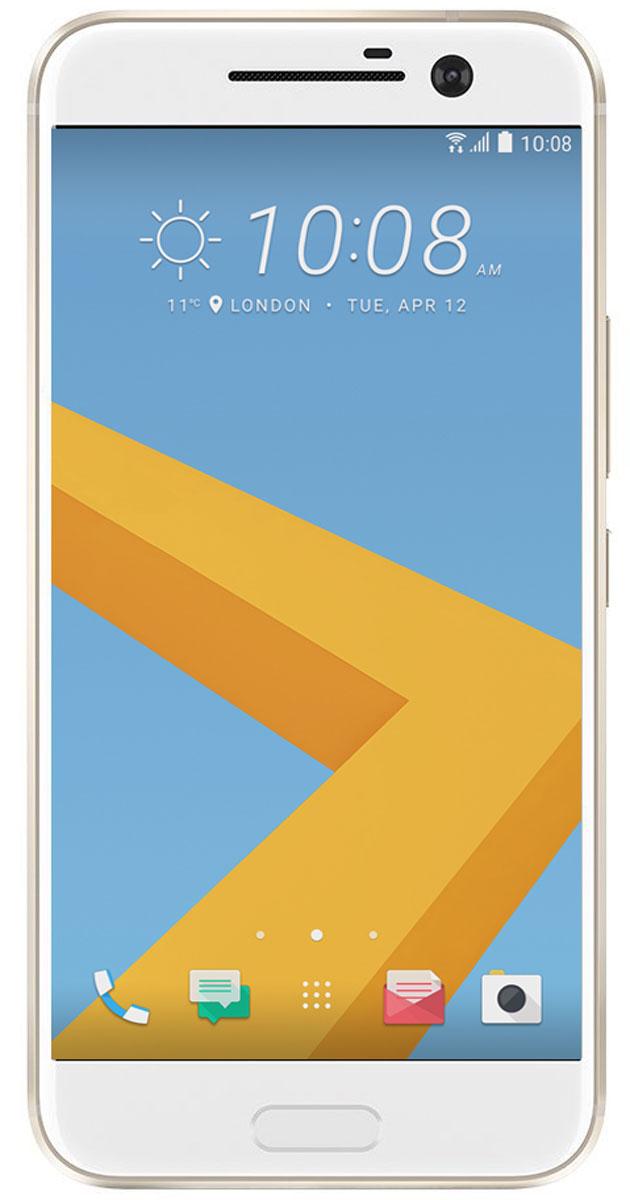 HTC 10 Lifestyle, Topaz Gold99HAJN037-00HTC 10 Lifestyle. Все, что ты ожидаешь от флагманского устройства, и даже больше. Непревзойденная производительность. Роскошный 24-битный Hi-Res Audio звук. Оптическая стабилизация изображения, впервые представленная как в основной, так и фронтальной камерах. И все это в искусно созданном цельнометаллическом корпусе. Красота света, нашедшая отражение в цельнометаллическом корпусе. HTC с огромным вниманием отнеслись к дизайну каждой детали HTC 10 Lifestyle. И не остановились на этом - каждый элемент доведен до совершенства. От выразительной зеркальной окантовки мастерски сконструированного двухцветного корпуса до отточенного дизайна кнопки включения. HTC 10 Lifestyle оснащен, пожалуй, лучшей камерой среди представленных сегодня на рынке смартфонов. Ты оценишь такие инновации как первая в мире система оптической стабилизации, реализованная как в основной, так и во фронтальной камерах, 12 миллионов чувствительных элементов UltraPixel, быстрая...