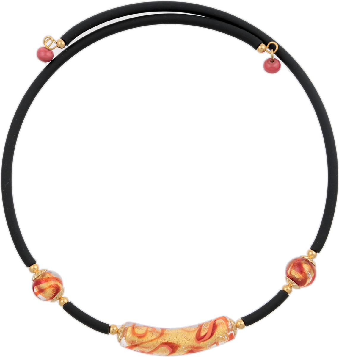 Колье Сицилия. Муранское стекло, каучук, ручная работа. Murano, Италия (Венеция)10101761Колье Сицилия. Муранское стекло, каучук, ручная работа. Murano, Италия (Венеция). Диаметр - 13 см (размер регулируется). Каждое изделие из муранского стекла уникально и может незначительно отличаться от того, что вы видите на фотографии