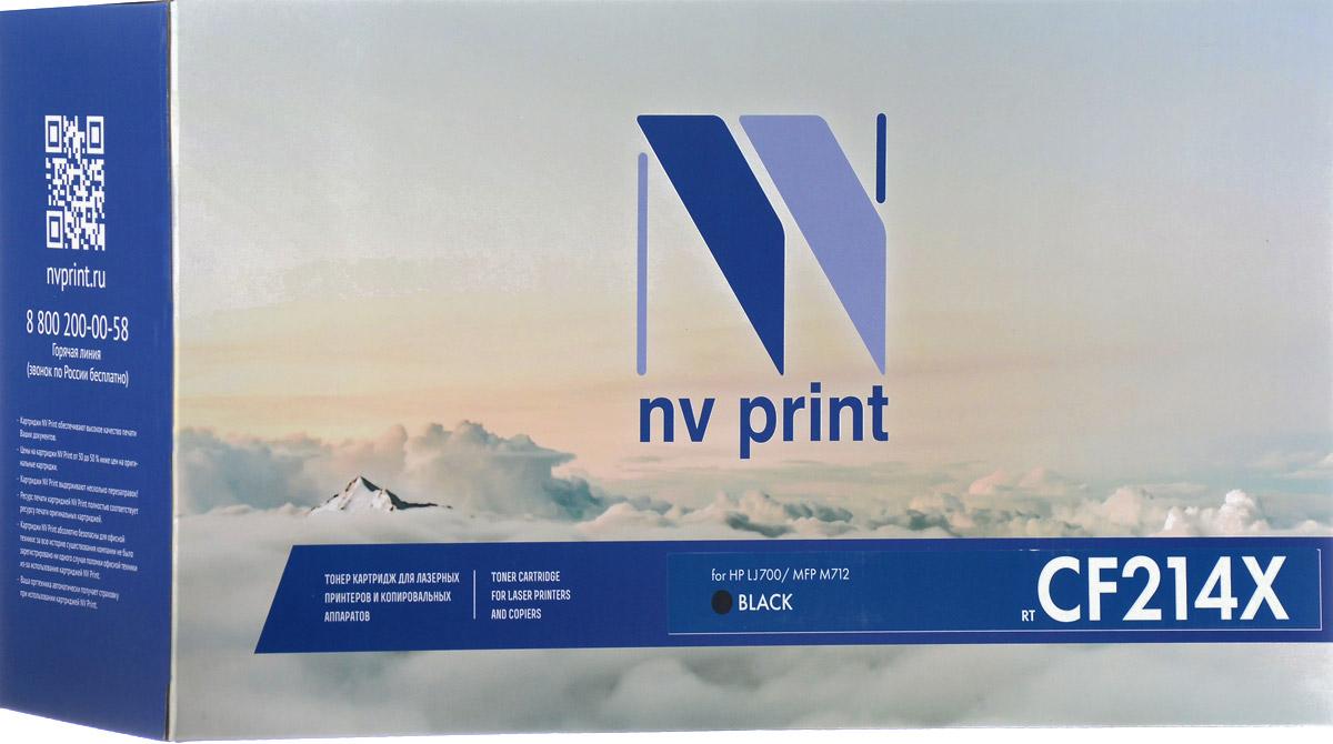 NV Print CF214X, Black тонер-картридж для HP LaserJet 700/MFP M712NV-CF214XСовместимый лазерный картридж NV Print CF214X для печатающих устройств HP LaserJet MFP M712/700 - это альтернатива приобретению оригинальных расходных материалов. При этом качество печати остается высоким. Тонер картриджи NV Print, спроектированные и разработанные с применением передовых технологий, наилучшим образом приспособлены для эффективной работы печатного устройства. Все компоненты оптимизируют процесс печати и идеально сочетаются в течение всего времени работы, что дает вам неизменно качественные результаты при использовании вашего лазерного принтера. Лазерные принтеры, копировальные аппараты и МФУ являются более выгодными в печати, чем струйные устройства, так как лазерных картриджей хватает на значительно большее количество отпечатков, чем обычных. Для печати в данном случае используются не чернила, а тонер.