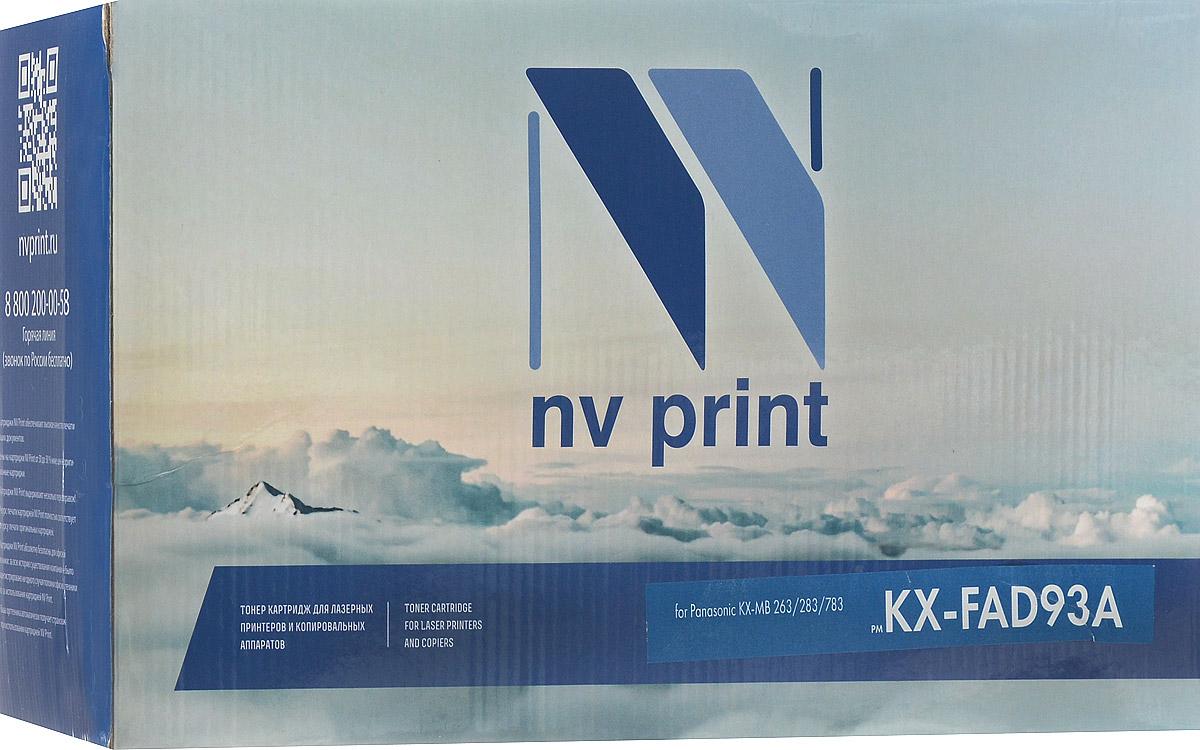 NV Print KXFAD93A, Black тонер-картридж для Panasonic KX-MB263/MB283/MB783NV-KXFAD93AСовместимый лазерный картридж NV Print KXFAD93A для печатающих устройств Panasonic KX-MB263/MB283/MB783 - это альтернатива приобретению оригинальных расходных материалов. При этом качество печати остается высоким. Тонер картриджи NV Print, спроектированные и разработанные с применением передовых технологий, наилучшим образом приспособлены для эффективной работы печатного устройства. Все компоненты оптимизируют процесс печати и идеально сочетаются в течение всего времени работы, что дает вам неизменно качественные результаты при использовании вашего лазерного принтера. Лазерные принтеры, копировальные аппараты и МФУ являются более выгодными в печати, чем струйные устройства, так как лазерных картриджей хватает на значительно большее количество отпечатков, чем обычных. Для печати в данном случае используются не чернила, а тонер.