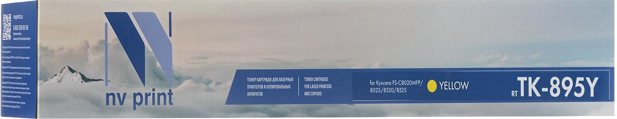 NV Print TK895Y, Yellow тонер-картридж для Kyocera FS-C8020MFP/C8025MFP/C8520MFP/C8525MFPNV-TK895YСовместимый лазерный картридж NV Print TK895Y для печатающих устройств Kyocera FS- C8020MFP/C8025MFP/C8520MFP/C8525MFP - это альтернатива приобретению оригинальных расходных материалов. При этом качество печати остается высоким. Тонер картриджи NV Print, спроектированные и разработанные с применением передовых технологий, наилучшим образом приспособлены для эффективной работы печатного устройства. Все компоненты оптимизируют процесс печати и идеально сочетаются в течение всего времени работы, что дает вам неизменно качественные результаты при использовании вашего лазерного принтера. Лазерные принтеры, копировальные аппараты и МФУ являются более выгодными в печати, чем струйные устройства, так как лазерных картриджей хватает на значительно большее количество отпечатков, чем обычных. Для печати в данном случае используются не чернила, а тонер.