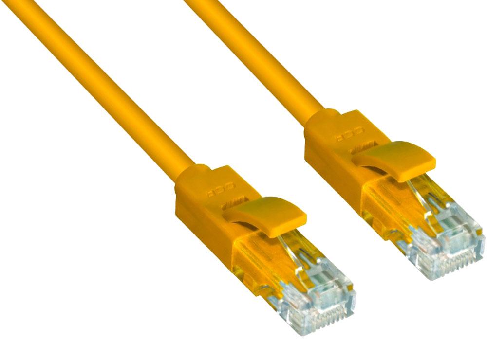 Greenconnect GCR-LNC02 патч-корд (1,5 м)GCR-LNC02-1.5mВысокотехнологичный современный литой патч-корд Greenconnect GCR-LNC02 используется для подключения к интернету на высокой скорости. Подходит для подключения персональных компьютеров или ноутбуков, медиаплееров или игровых консолей PS4 / Xbox One, а также другой техники и устройств, у которых есть стандартный разъем подключения кабеля для интернета LAN RJ-45. Соответствие сетевого патч-корда Greenconnect GCR-LNC02 современному стандарту UTP Cat5e обеспечивает возможность подключения к интернету со скоростью до 1 Гбит/с. С такой скоростью любимые фильмы будут загружаться меньше чем за полминуты, а музыка - мгновенно. Внешняя оболочка сетевого кабеля Greenconnect изготовлена из экологически чистого ПВХ, соответствующего европейскому стандарту безотходного производства RoHS.