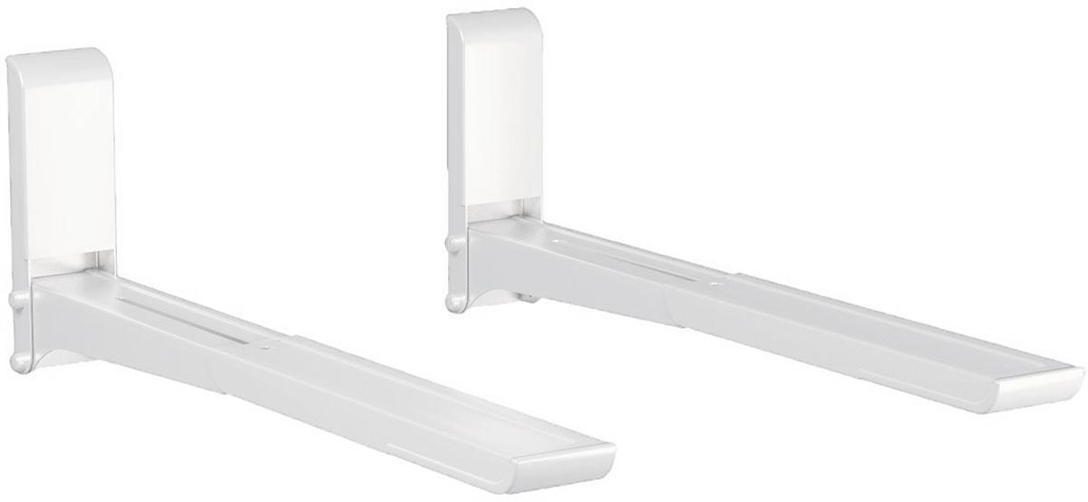 Mart 03М, White кронштейн для СВЧ1218861Mart 03М - надежный кронштейн с разборной конструкцией для вашей СВЧ-печи. Максимальная нагрузка составляет 40 кг. Данный кронштейн позволит установить вашу кухонную технику на стену, в том месте, где это необходимо.