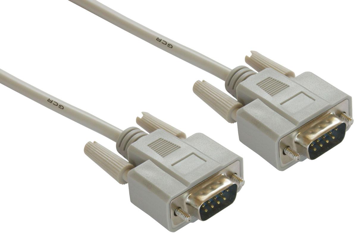 Greenconnect GCR-DB9CM2M кабель COM RS-232 (5 м)GCR-DB9CM2M-5mКабель Greenconnect GCR-DB9CM2M предназначен для подключения профессионального оборудования с разъемом RS-232. С его помощью можно легко подключить компьютер, принтер, электронные весы, кассовое или диагностическое оборудование. Разъем RS-232 так же встречается на контроллерах, материнских платах, ресиверах, а также ноутбуках.