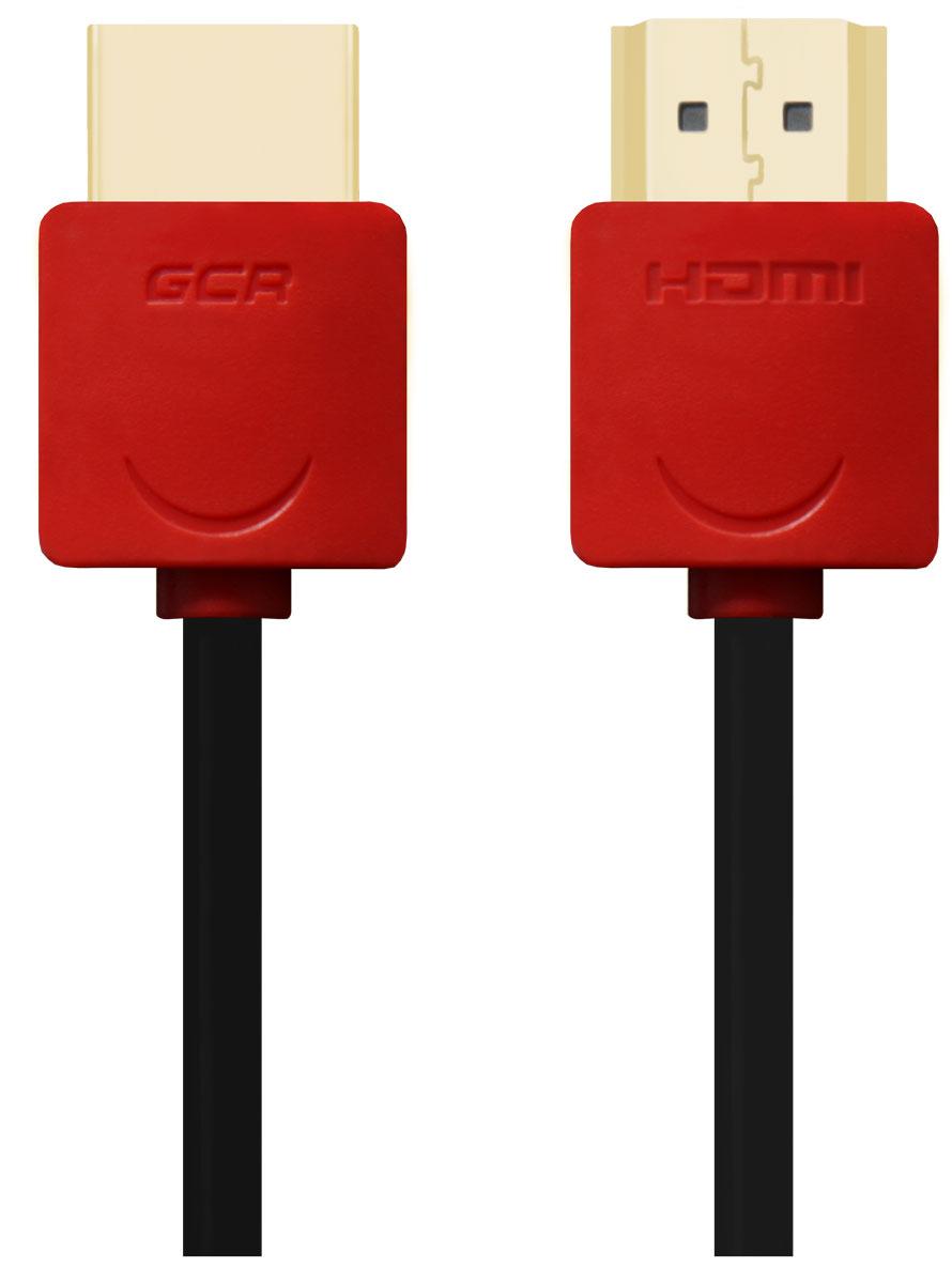 Greenconnect GCR-HM550 кабель HDMI (0,5 м)GCR-HM550-0.5mКабель HDMI v 1.4 Greenconnect GCR-HM550 - отличное решение для подключения компьютера, игровых консолей, DVD и Blu-ray плееров, аудио-ресиверов к телевизору или дополнительному монитору. Кабель HDMI поддерживает как стандартные, так и высокие разрешения самых современных моделей телевизоров. Greenconnect GCR-HM550 поддерживает 4K, Full HD и HD разрешения. Это даёт возможность наслаждаться более точной и естественной картинкой с высочайшим уровнем детализации и диапазоном цветов. Использование кабеля позволяет передавать изображение в столь популярном формате 3D, усиливая элемент присутствия и позволяя получать удовольствие от качественного объёмного изображения. Кабель оснащен двунаправленным каналом для передачи сетевых данных, который подходит для использования IP-приложениями. Канал Ethernet позволяет нескольким устройствам работать в сети Ethernet без необходимости подключения дополнительных проводов, а также напрямую обмениваться контентом. ...