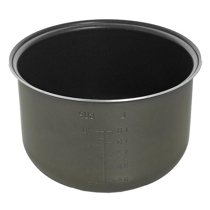 Polaris PIP 0501 чаша для мультиварок с антипригарным покрытием004806Внутренняя чаша с антипригарным покрытием и системой равномерного нагрева Polaris PIP 0501 для различных мультиварок. Двухслойное антипригарное покрытие Whitford Мерная шкала Диаметр с ободком 24 см Глубина (по внутренней стенке) 14 см