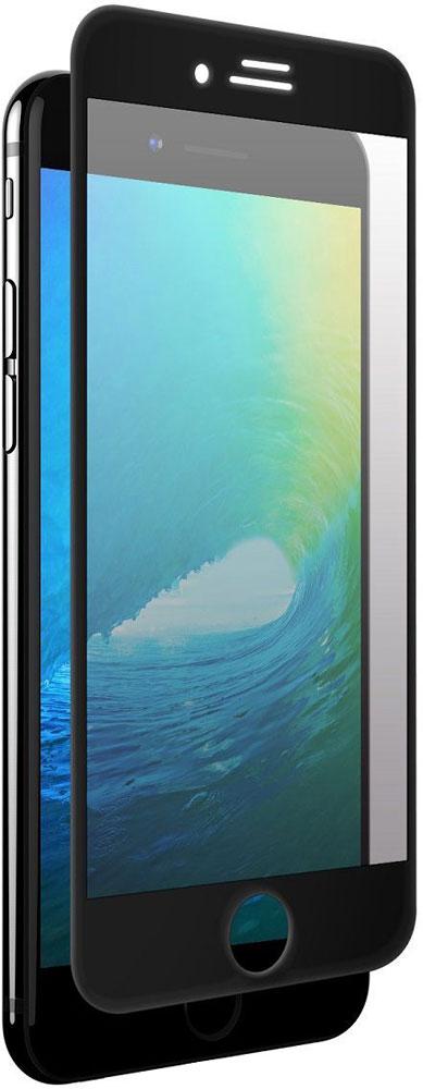 uBear Nano Full Cover Premium Glass защитное стекло для iPhone 7 Plus, BlackGL09BL03-I7PЗащитное стекло uBear Nano Full Cover Premium Glass для iPhone 7 Plus обеспечивает надежную защиту сенсорного экрана устройства от большинства механических повреждений и сохраняет первоначальный вид дисплея, его цветопередачу и управляемость. Закаленное стекло имеет нанометровое напыление, которое препятствует скоплению жира и грязи, а пленка с олеофобным покрытием в случае разбития стекла не позволяет ему разлететься на кусочки. Стекло закрывает весь экран iPhone.