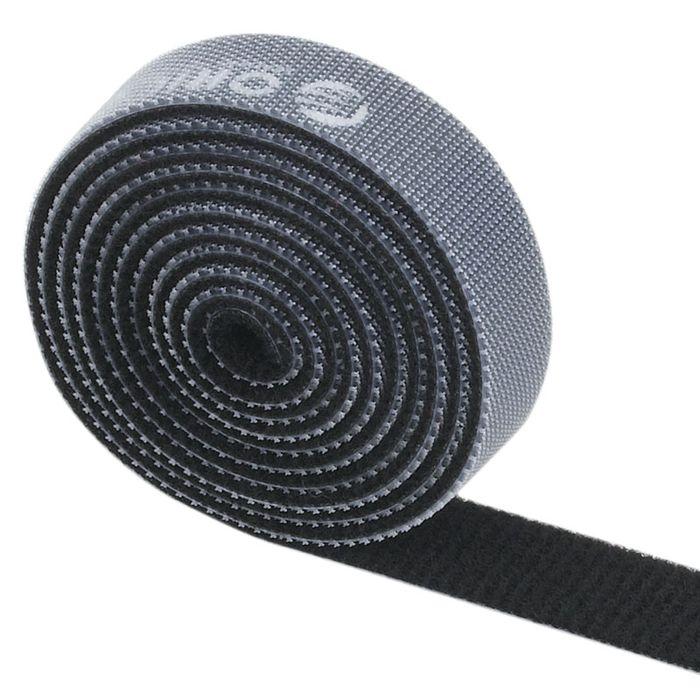 Orico CBT-1S, Black стяжка для кабелейORICO CBT-1S-BKORICO CBT-1S поможет навести порядок среди кабелей как дома, так и в офисе. На одной стороне ORICO CBT-1S находится липучка, а на обратной – поверхность для липучки. Если стяжка окажется слишком длинной, то от неё можно отрезать всё лишнее. Оставшуюся часть можно также использовать для связывания кабелей. Общая длина стяжки составляет 1 метр. ORICO CBT-1S встречается в нескольких цветах: чёрном, оранжевом, жёлтом, красном и зелёном.