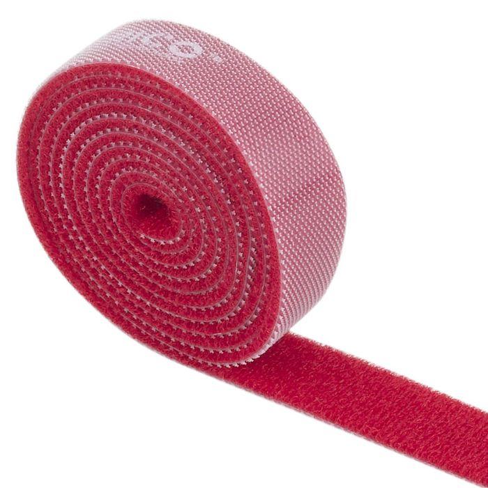 Orico CBT-1S, Red стяжка для кабелейORICO CBT-1S-RDORICO CBT-1S поможет навести порядок среди кабелей как дома, так и в офисе. На одной стороне ORICO CBT-1S находится липучка, а на обратной - поверхность для липучки. Если стяжка окажется слишком длинной, то от неё можно отрезать всё лишнее. Оставшуюся часть можно также использовать для связывания кабелей. Общая длина стяжки составляет 1 метр. ORICO CBT-1S встречается в нескольких цветах: чёрном, оранжевом, жёлтом, красном и зелёном.