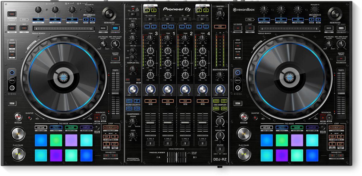 Pioneer DDJ-RZ DJ контроллер для профессиональных диджеев