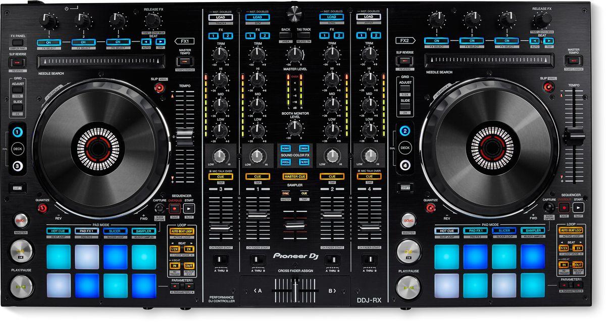 Pioneer DDJ-RX DJ контроллер для профессиональных диджеев