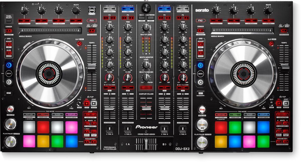 Pioneer DDJ-SX2 DJ контроллер для профессиональных диджеев