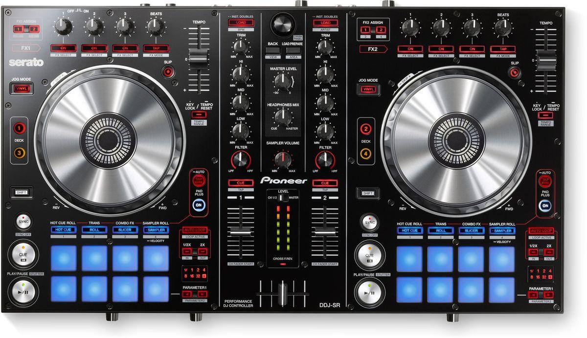 Pioneer DDJ-SR DJ контроллер среднего уровня
