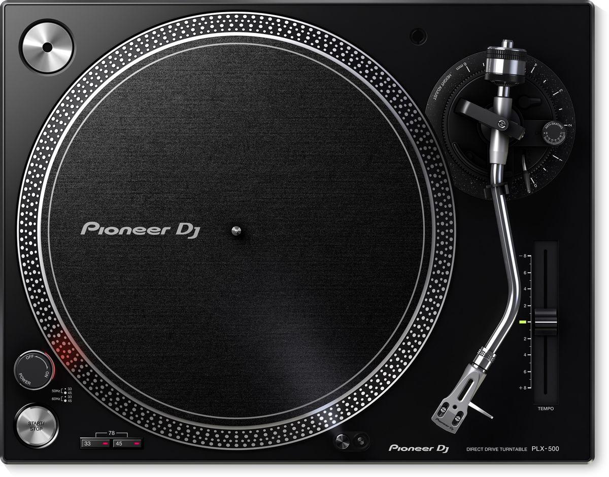 Pioneer PLX-500-K проигрыватель виниловых дисков