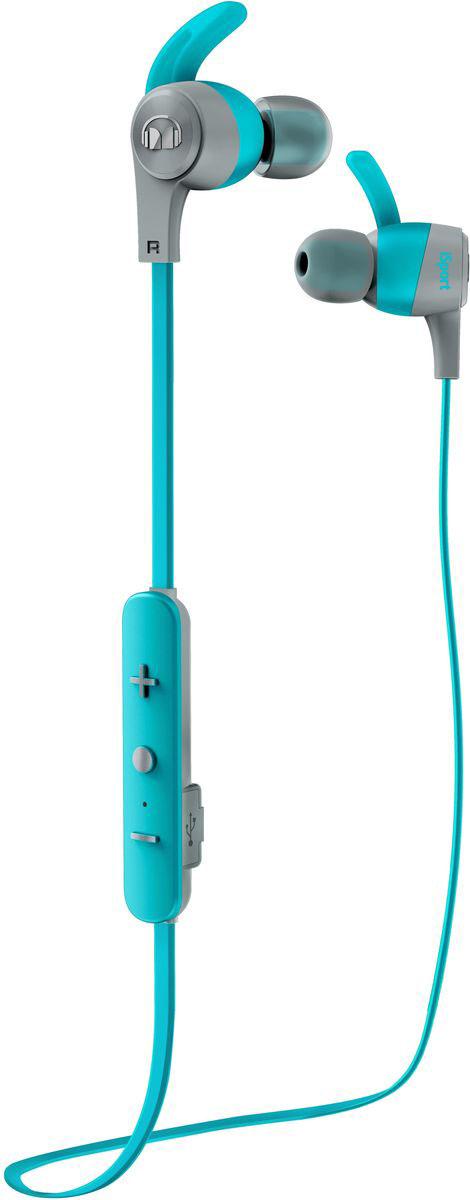 Monster iSport Achieve In-Ear Wireless, Blue наушники137090-00Вставные спортивные наушники iSport Achieve In-Ear Wireless с запатентованными технологиями Monster - лучшие в своем ценовом сегменте. Эксклюзивное крепление SecureFit от Monster позволяет наушникам оставаться на месте в течении самой подвижной тренировки в тренажерном зале. Высокая шумоизоляция позволит сосредоточиться на треках, а покрытие с защитой от пота добиться наибольшей интенсивности тренировок с максимальным комфортом.