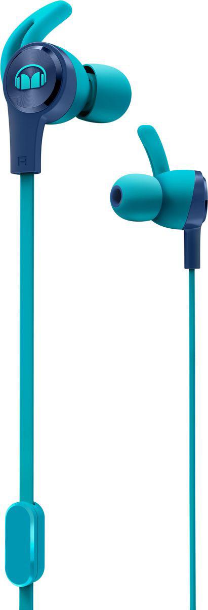 Monster iSport Achieve, Blue наушники137093-00Вставные спортивные наушники iSport Achieve с запатентованными технологиями Monster - лучшие в своем ценовом сегменте. Эксклюзивное крепление SecureFit от Monster позволяет наушникам оставаться на месте в течении самой подвижной тренировки в тренажерном зале. Высокая шумоизоляция позволит сосредоточиться на треках, а покрытие с защитой от пота добиться наибольшей интенсивности тренировок с максимальным комфортом.