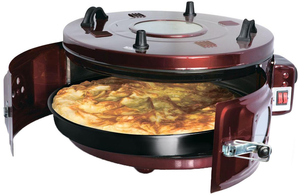 Proffi PH7815 мультипечьPH7815Мультипечь Proffi PH7815 - революция на вашей кухне. Эта чудо-печь позволит вам жарить, тушить, печь, готовить на гриле без использования масла. Румяные пироги и ароматная курочка, сочная свинина с душистыми травами и хрустящий хлеб – это далеко не все блюда, которые вы сможете приготовить с легкостью вместе с мультипечью от Proffi. Надежная система блокировки и простота в управлении делают мультипечь незаменимой помощницей умелой хозяйки,а термостойкие ручки и подставки под горячее, входящие в комплектацию, не дадут обжечься и оберегут заботливые руки, готовящие вкуснейшие обеды и ужины. Данная модель заменит сразу 4 устройства на вашей кухне: духовку, тандыр, русскую печь и аэрогриль. За счет технологии циркуляции горячего воздуха блюда получатся с хрустящей, ароматной корочкой и останутся нежные внутри. Диаметр внутреннего противня 41 см с вместительность 28 литров позволит готовить на большую семью и не ограничивать кулинарную...