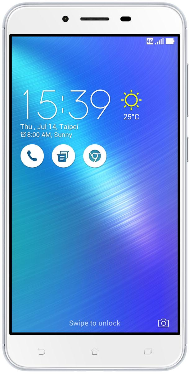 ASUS ZenFone 3 Max ZC553KL, Silver (90AX00D3-M00300)90AX00D3-M00300Вы живете активной жизнью, а ваш смартфон к середине дня уже разряжен? Тогда вам нужен новый ZenFone 3 Max. Аккумулятор емкостью 4100 мАч позволит пользоваться этим смартфоном с раннего утра до поздней ночи. Работайте продуктивнее, и развлекайтесь ярче - ZenFone 3 Max поможет вам жить еще активнее! С новым 5,5-дюймовым ZenFone 3 Max вам больше не придется беспокоиться о том, что смартфон разрядится в самый неподходящий момент, ведь благодаря большой емкости аккумулятора (4100 мАч), ZenFone 3 Max может работать до 33 дней в режиме ожидания. Чем больше емкость аккумулятора, тем больше пользы от смартфона, ведь каждый хочет получить максимум от своего мобильного устройства, не прибегая к подзарядке: пролистать больше веб-сайтов, просмотреть больше видеороликов и пообщаться с большим числом друзей, чем при использовании обычных смартфонов. Емкость аккумулятора ZenFone 3 Max составляет целых 4100 мАч, поэтому вы с легкостью сможете использовать смартфон в...