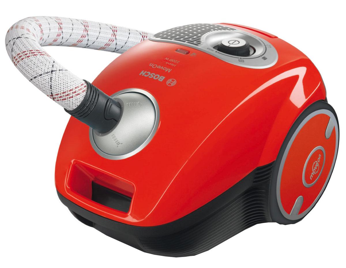 Bosch BGL35MOV15, Red пылесосBGL35MOV15Мощный пылесос Bosch BGL35MOV15 имеет удобный и прочный текстильный шланг. Аксессуары всегда под рукой и готовы к работе. С набором аксессуаров (щелевая насадка и насадка для мягкой и корпусной мебели) вам подвластны труднодоступные места. Всегда качественный результат уборки. Благодаря большому радиусу действия 10 м можно убрать даже большую квартиру за один подход.