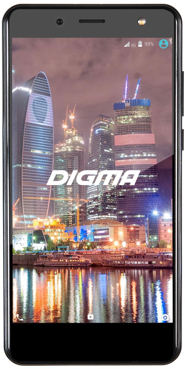 Digma Vox Flash 4G, Black