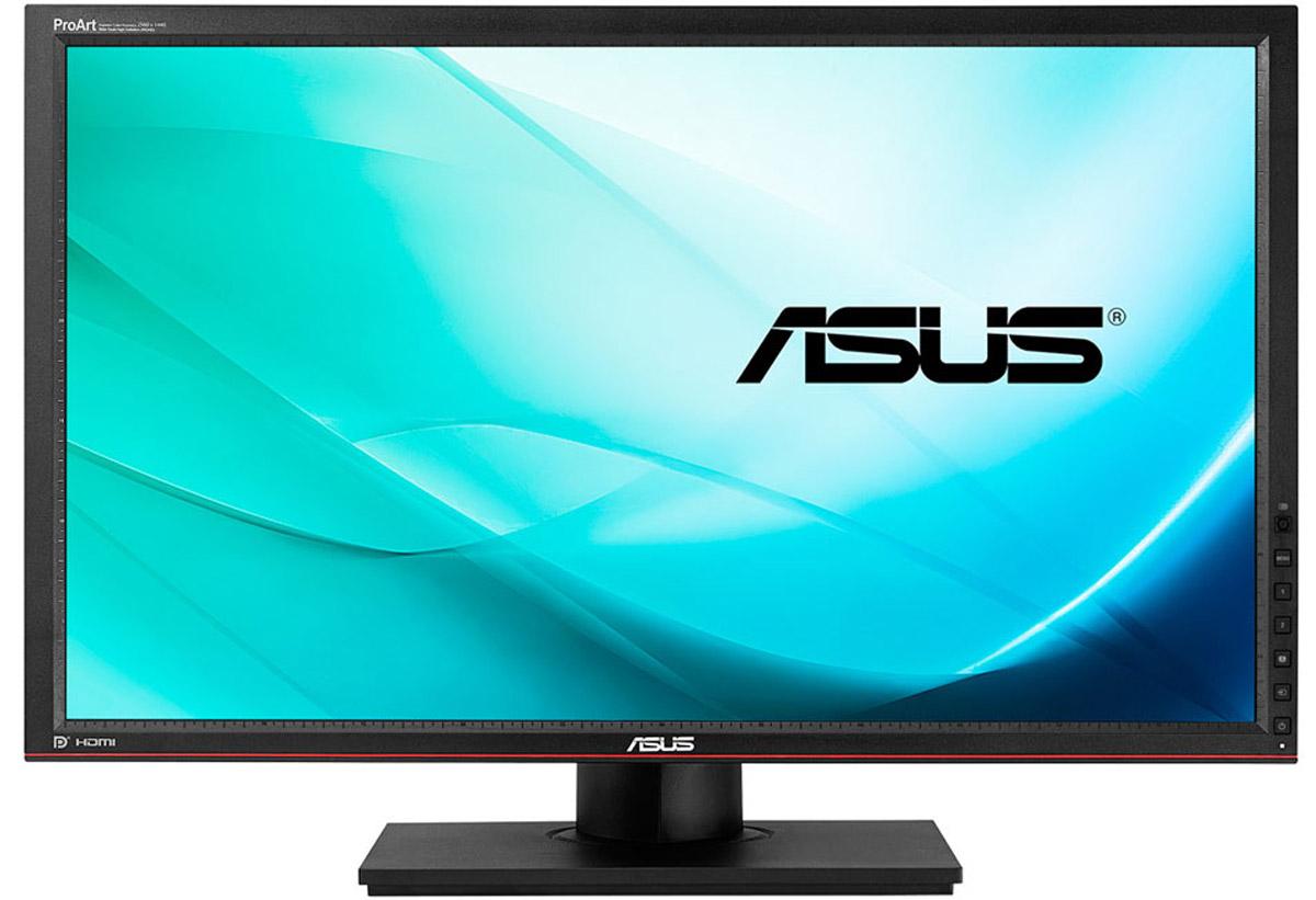 ASUS PA279Q, Black Red монитор90LM0040-B01370Монитор Asus PA279Q способен отображать цветовые пространства sRGB, AdobeRGB и NTSC на 100%, 99% и 120%, соответственно, что позволяет использовать его для профессиональной работы в приложениях, требующих идеальной цветопередачи.Благодаря 10-битному представлению цвета, PA279Q способен отображать более миллиарда различных цветов, а его внутренняя LUT-таблица использует разрядность в 14 бит. Это способствует более точному воспроизведению каждого оттенка цвета.Модель PA279Q поддерживает два значения параметра «гамма»: 2,2 для платформы Windows и 1,8 для компьютеров Mac. Каждый экземпляр монитора калибруется таким образом, чтобы параметр дельта Е не превышал значения 2.Asus PA279Q оснащается высококачественной ЖК-панелью, изготовленной по технологии AH-IPS, которая отличается великолепной цветопередачей, высокой яркостью и низким энергопотреблением. Максимальная яркость монитора составляет 350 кд/м2, а динамическая контрастность доходит до 100 000 000:1.Монитор Asus PA279Q обладает высоким разрешением 2560x1440 пикселей, поэтому он позволяет увидеть больше, чем обычные мониторы с низким разрешением. Это особенно важно при использовании профессиональных приложений, связанных с обработкой высококачественных изображений большого размера. Как правило, чем больше пикселей у дисплея, тем больше энергии ему требуется для работы. Однако PA279Q оснащается светодиодной подсветкой, которая отличается высокой экономичностью, поэтому энергопотребление этого монитора находится на достаточно низком уровне.Благодаря ЖК-панели, изготовленной по технологии AH-IPS, монитор Asus PA279Q может похвастать широкими углами обзора как по горизонтали, так и по вертикали. Благодаря этому изображение практически не претерпевает каких-либо искажений цветопередачи при изменении угла, под которым пользователь смотрит на экран. Быстрое среднее время отклика – всего 6 мс (при переключении между полутонами) – обеспечивает отсутствие темных «шлейфов» позади дв