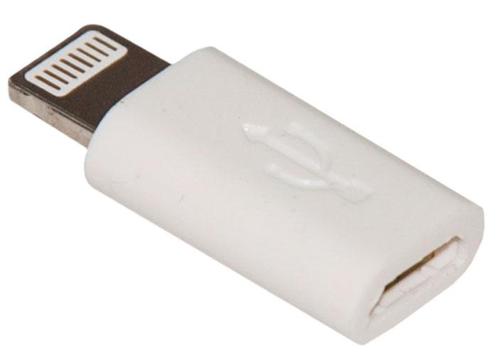 Continent ADP-1001WT переходник microUSB-Apple LightngADP-1001WT/OEMContinent ADP-1001WT - это универсальный переходник с разъема microUSB на разъем Lighting. Данный переходник будет чрезвычайно полезен для всех пользователей нескольких портативных мультимедийных устройств с различными выходными разъемами. Благодаря Continent ADP-1001WT вам больше не понадобится несколько зарядных устройств, их заменит данный компактный переходник.