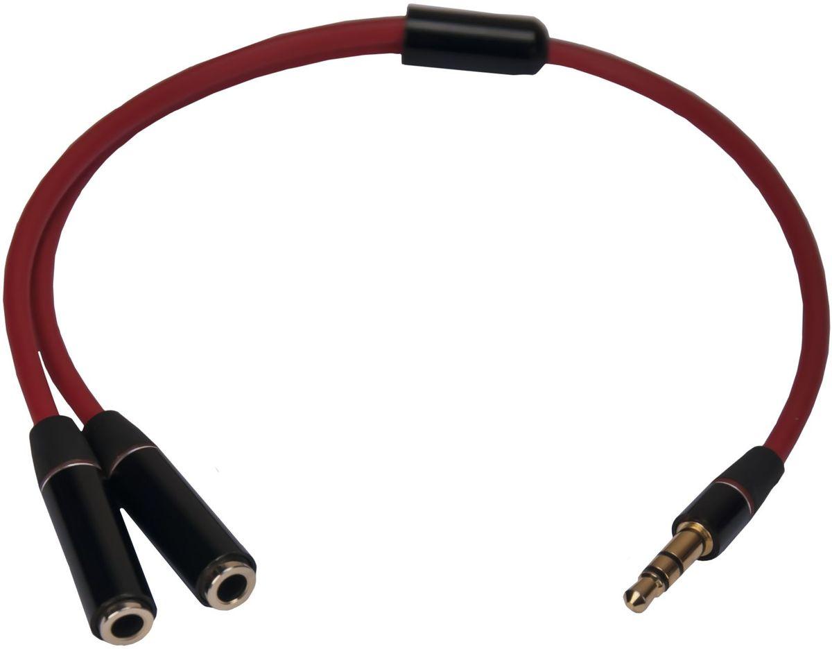 Continent AUX-102RD разветвительAUX-102RD/OEMУниверсальный аудиокабель-разветвитель Continent AUX-102RD используется для подключения двух пар стереонаушников с разъемами 3,5 к аудиовоспроизводящей аппаратуре с разъемом 3,5.