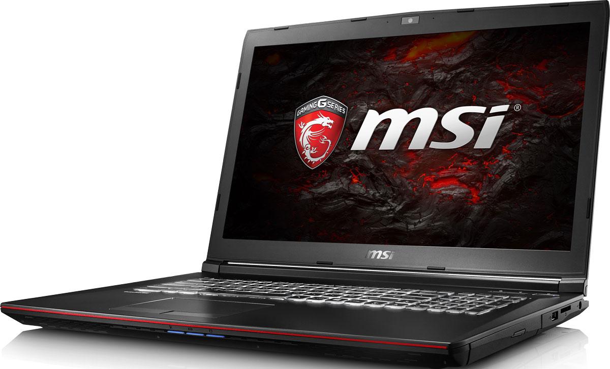 MSI GP72VR 7RF-282RU Leopard Pro, BlackGP72VR 7RF-282RUКомпания MSI создала игровой ноутбук GP72VR 7RF Leopard Pro с новейшим поколением графических карт NVIDIA GeForce GTX 1060. По ожиданиям экспертов производительность GeForce GTX 1060 должна более чем на 40% превысить показатели графических карт GeForce GTX 900M Series. Благодаря инновационной системе охлаждения Cooler Boost и специальным геймерским технологиям, применённым в игровом ноутбуке MSI GP72VR 7RF Leopard Pro, графическая карта новейшего поколения NVIDIA GeForce GTX 1060 сможет продемонстрировать всю свою мощь без остатка. Олицетворяя концепцию Один клик до VR и предлагая полное погружение в игровые вселенные с идеально плавным геймплеем, игровые ноутбуки MSI разбивают устоявшиеся стереотипы об исключительной производительности десктопов. Ноутбуки MSI готовы поразить любого геймера, заставив взглянуть на мобильные игровые системы по-новому. Седьмое поколение процессоров Intel Core серии H обрело более энергоэффективную архитектуру, продвинутые...