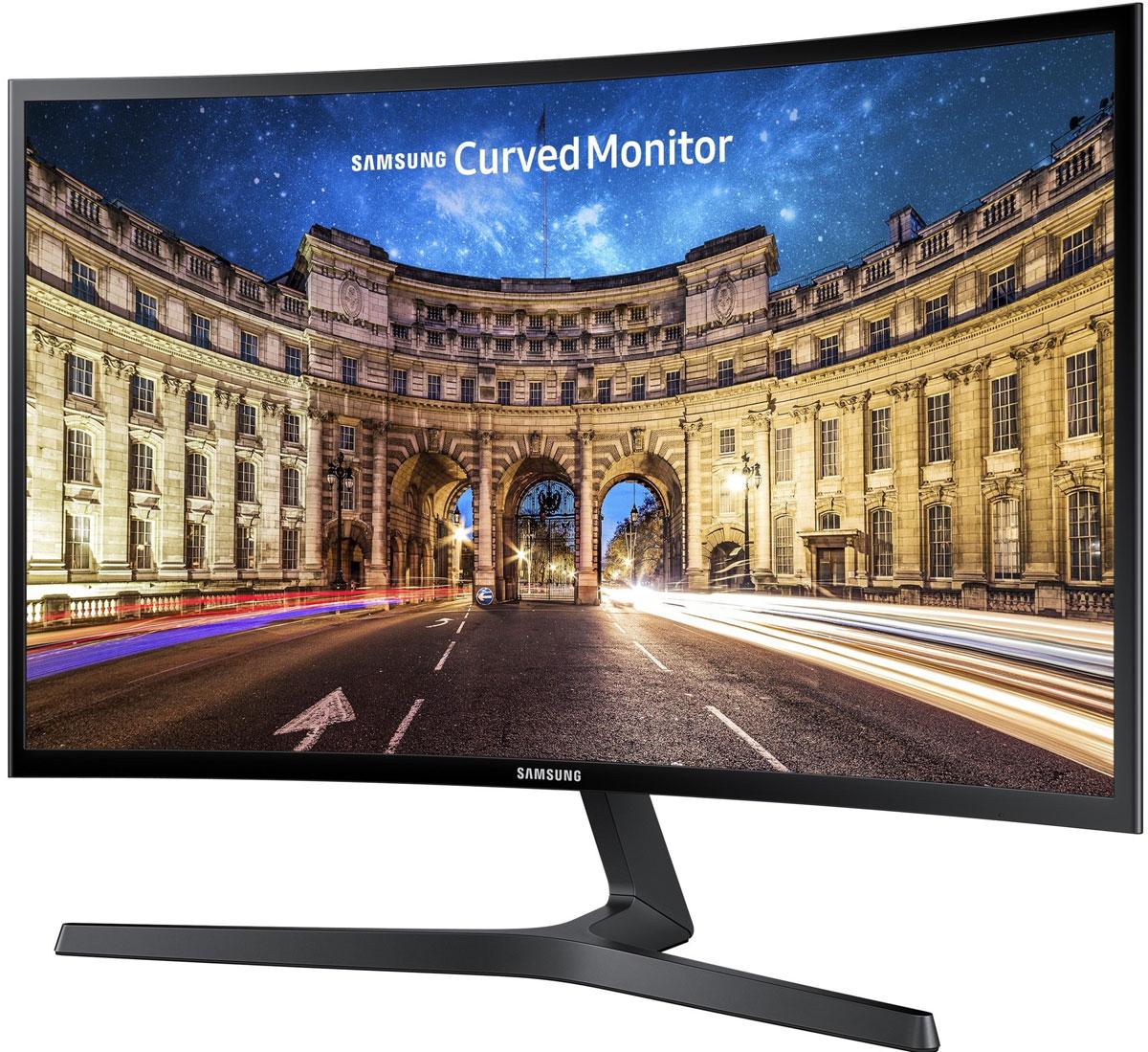 Samsung LC27F396FHI, Black мониторLC27F396FHIXCIОщутите поистине захватывающие эмоции от просмотра или работы с необычайно изогнутым монитором Samsung. Линия изгиба изогнутого монитора такая же как у экрана в кинотеатре iMax и составляет 1 800 R или 1 800 мм (радиус дуги по которой изогнут экран), что создает более широкое поле зрения, повышает глубину восприятия картинки и сводит к минимуму отвлечения по периферии. Таким образом, любимое ТВ-шоу, гоночная игра и другой медиа-контент подарят совершенно иной, незабываемый опыт.Более изогнутый экран для лучшего восприятия изображения. Изогнутый экран в мониторах появился как следствие изогнутости глаза человека, повторяя контур глаза удается достичь меньшей усталости благодаря более редкой фокусировке на изображении.Высокая статическая контрастность (3 000:1): высокое значение статической контрастности обеспечит глубокий черный цвет, удобную работу с текстом и яркие цвета в насыщенных сценах. Минимальный light leakage (утечка света): Используемая матрица с вертикальным выравниванием жидких кристаллов обеспечивает равномерную подсветку и глубокий черный цвет.Технология AMD FreeSync: Технология обеспечивает синхронизацию частоты обновления изображения с покадровой частотой PC, что минимизирует задержку вывода, снижает эффект наложение кадров и подвисание изображения во время игры. Режим Game Mode: режим обеспечивает автоматическую оптимизацию параметров изображения.
