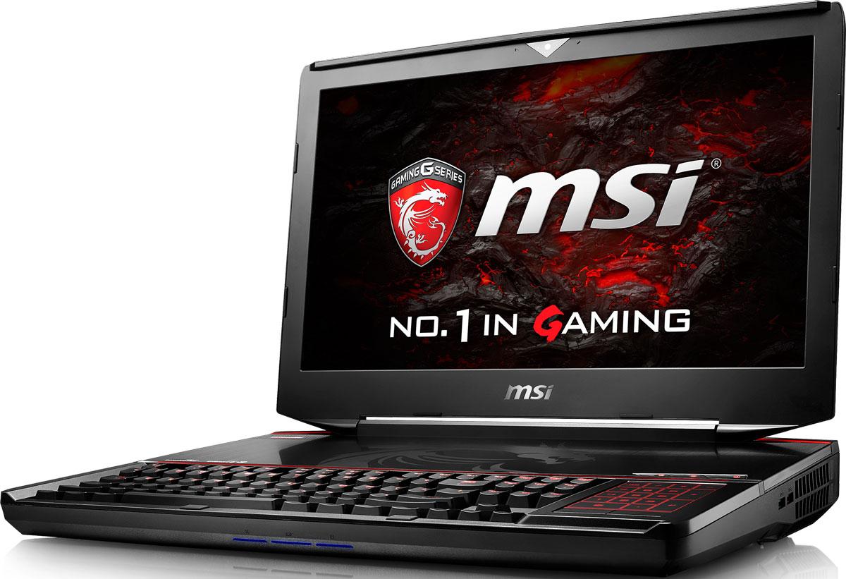 MSI GT83VR 6RE-020RU Titan SLI, BlackGT83VR 6RE-020RUКомпания MSI создала игровой ноутбук GT83VR 6RE Titan SLI с новейшим поколением графических карт NVIDIA GeForce GTX 10 серии. По ожиданиям экспертов производительность новой GeForce GTX 1070 SLI должна более чем на 40% превысить показатели графических карт GeForce GTX 900M Series. Благодаря инновационной системе охлаждения Cooler Boost и специальным геймерским технологиям, применённым в игровом ноутбуке MSIGT83VR 6RE Titan SLI , графическая подсистема новейшего поколения NVIDIA GeForce GTX 1070 SLI сможет продемонстрировать всю свою мощь без остатка. Олицетворяя концепцию Один клик до VR и предлагая полное погружение в игровые вселенные с идеально плавным геймплеем, игровой ноутбук от MSI разбивает устоявшиеся стереотипы об исключительной производительности десктопов. Ноутбук MSI MSI GT83VR 6RE Titan SLIготов поразить любого геймера, заставив взглянуть на мобильные игровые системы по-новому.По сравнению с предыдущими поколениями новейшие процессоры шестого поколения Intel обладают сниженным энергопотреблением при повышенной производительности. Данный ноутбук оснащены процессором Core i7 6820HK с возможностью разгона от 3.6GHz до 4GHz и выше с помощью режима SHIFT Turbo, при этом производительность процессора возрастает на 30% по сравнению с i7-4720HQ.Запускайте игры быстрее других благодаря потрясающей пропускной способности PCI-E Gen 3.0x4 с поддержкой технологии NVMe на одном устройстве M.2 SSD. Используйте потенциал твердотельного диска Gen 3.0 SSD на полную. Благодаря оптимизации аппаратной и программной частей достигаются экстремальный скорости чтения до 2200 МБ/с, что в 5 раз быстрее твердотельных дисков SATA3 SSD.Вы сможете достичь максимально возможной производительности вашего ноутбука благодаря поддержке оперативной памяти DDR4-2400, отличающейся скоростью чтения более 32 Гбайт/с и скоростью записи 36 Гбайт/с. Возросшая на 40% производительность стандарта DDR4-2400 (по сравнению с предыдущим поколением, 