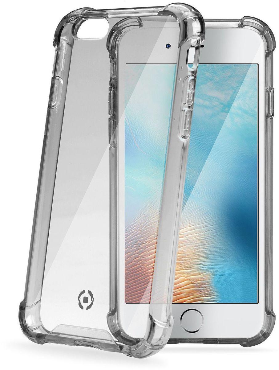 Celly Armor, Gray чехол для Apple iPhone 7ARMOR800BKЧехол Celly Armor для Apple iPhone 7 идеально защитит смартфон от ударов, падений и царапин. Выполнен из высококачественных материалов. Имеется свободный доступ ко всем разъемам и клавишам устройства.
